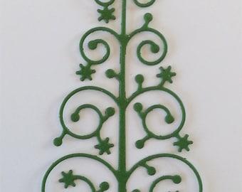 Snowflake Tree Die Cuts