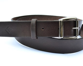 Leather belt, mens leather belt, women's leather belts, black leather belt