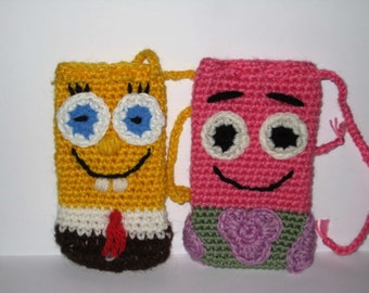 CROCHET SPONGEBOB PATRICK Only New Crochet Patterns