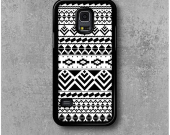 Samsung Galaxy Mini S5 Case Black White Ethnic Tribal