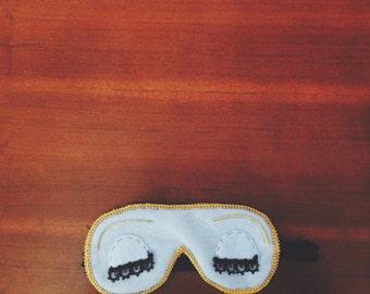 the G O L I G H T L Y sleep mask +++