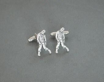Zombie Cufflinks Men's Cufflinks Zombie Gifts Biological Warfare Cufflinks Apocalypse Gifts for Him Men's Accessories Men's Gifts