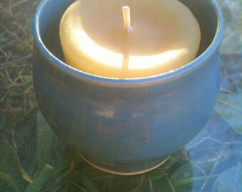 """The """"Morning Glory"""" votive- SOLD"""