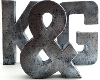 Modern Metal Letters Beauteous Faux Metal Letters Oxidized Copper Metal Farmhouse Inspiration