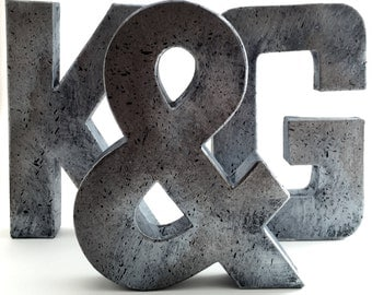 Rustic Metal Letters And Numbers Fascinating Industrial Zinc Faux Metal Letters And Numbers 8 Or Decorating Inspiration