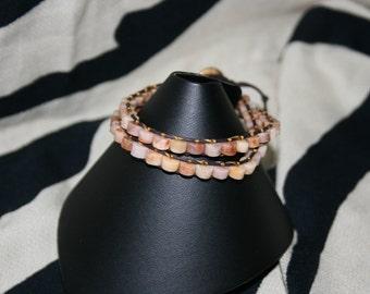 Picture Jasper Wrap Bracelet