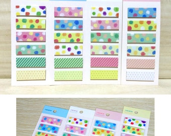 Colourful Dots 6in1 Post IT Notes Sticky Memo