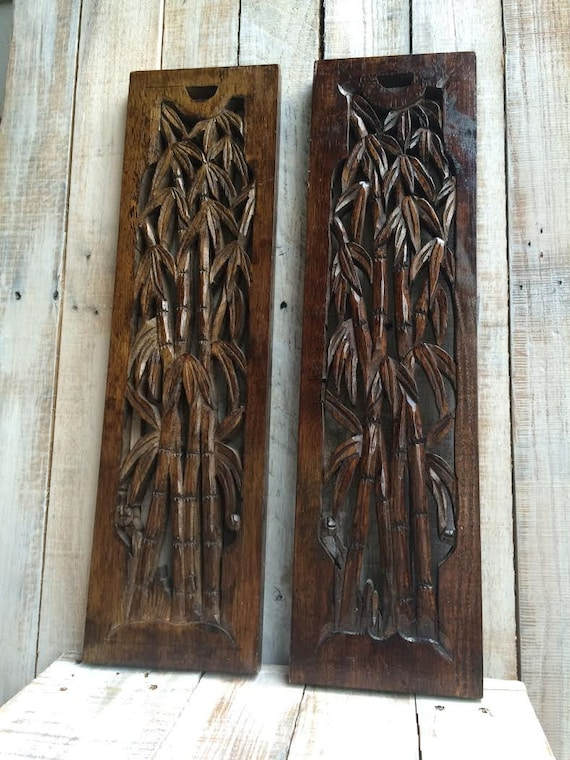 Bamboo Wood Wall Decor : Bamboo wall art decor decorating by bostoninventory
