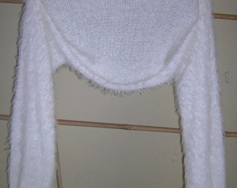 Shrug / Soft cream knit shrug / Cream knit shrug cardigan / Bridal shrug