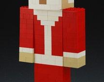 Lego Minecraft Santa