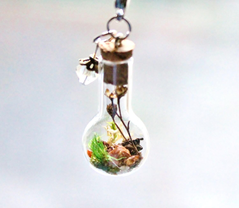 terrarium necklace unique custom gift terrarium jewelry