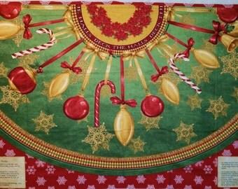 Christmas At Home Fireplace Mantel Panel