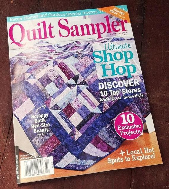 Quilt Sampler Magazine Fall/Winter 2013