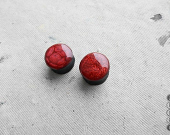 Burgundi galaxy ear plugs wooden tunnels,4,5,6,8,10,12,14,16,18,20,22,25 - 60mm;6g,4g,2g,0g,00g;1/4,5/16,3/8,1/2,9/16,5/8,3/4,7/8,1 1/4,1""