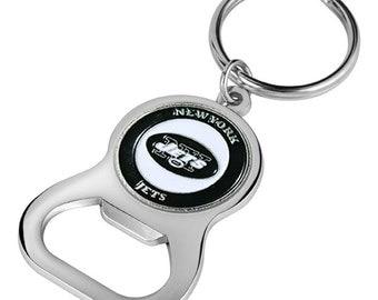New York Jets Keychain Bottle Opener