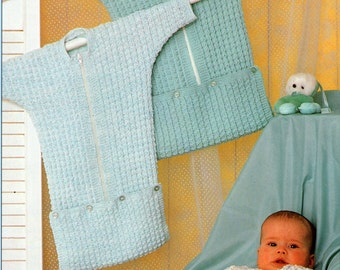 Free Crochet Pattern Baby Sleeping Bag : Crochet sleeping bag Etsy