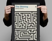 Penguin Books Classics Movie Poster THE SHINING Stanley KUBRICK High Quality Giclee Print Ikea Ribba Size