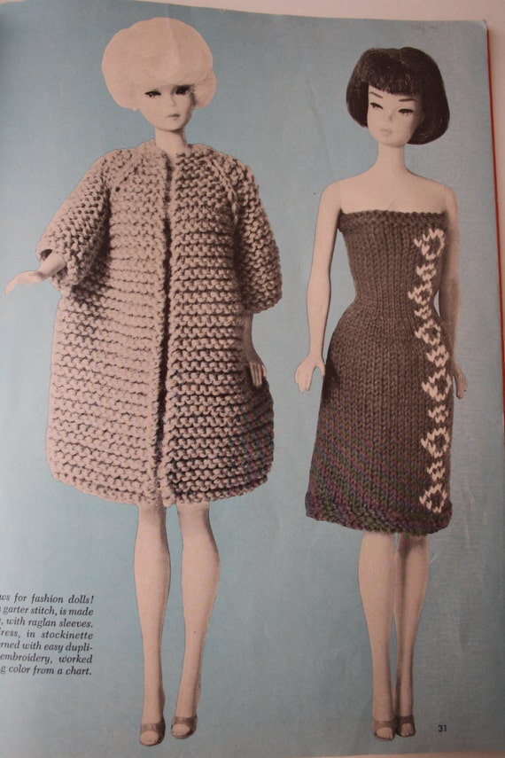 Really Simple Knitting Patterns For Dolls Clothes : VERY EASY Knitting Pattern Book, McCalls Book 2, 35 knitting patterns, women,...