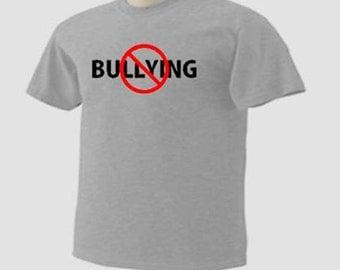 KIDS Stop Bullying No Bullies Zone T-Shirt