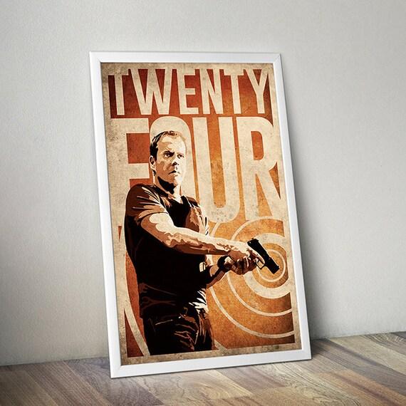 24 Poster Jack Bauer Poster Alternative Poster Twenty-four