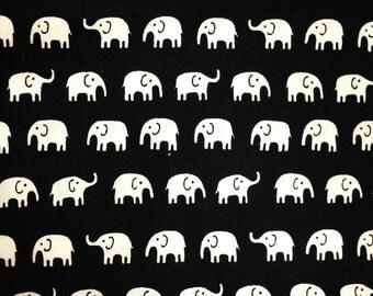 Small Elephant cotton fabric by the yard,  kids fabric,  animal fabric, simple, claen of 100% Cotton Fabric, Fat Quarter, half yard, yard.