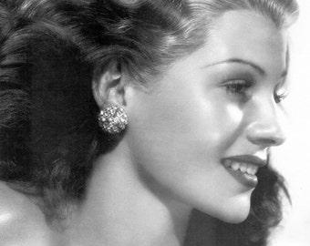 Rita Hayworth, Old Hollywood, Giclee Print, Home Theater Art, Hollywood Regency, Hollywood Glamour, Hollywood, Celebrities, Hollywood Decor