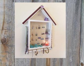 Jewelry Organizer Wall - Jewelry Display - Home Decor