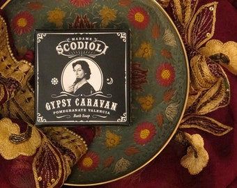 Gypsy Caravan Soap Bar - Pomegranate Valencia