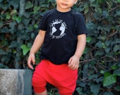 Baby Boy Baby Girl Solid Bright Red Harem Shorts: Etsy kid's fashion, toddler boy toddler girl, 4th of July, fourth of july