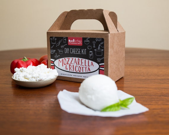 Mozzarella & Ricotta DIY Cheese Kit- 8 batches