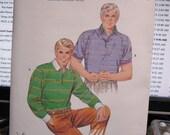 1511 Kwik Sew Pattern Men's  Shirt   50 thru 56