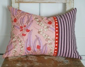 Cottage Chic Pillows,Decorative Pillows, Throw Pillows, Boho Pillows, Pink Pillows, Modern Pillows, Pink Floral Pillows, Urban Chic Pillows
