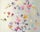 Baby Mobiles, Colorful Nursery Mobiles, Butterfly Mobiles, Butterfly Nursery, Kids Room Decor, Baby Nursery Mobiles