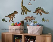 Dinosaurs - Peel and Stick Wall Sticker