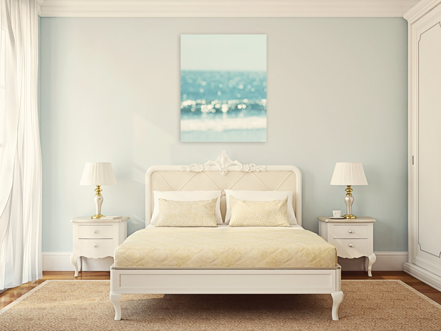Coastal Wall Decor: Beach Canvas Art Coastal Wall Art Large Wall Art By
