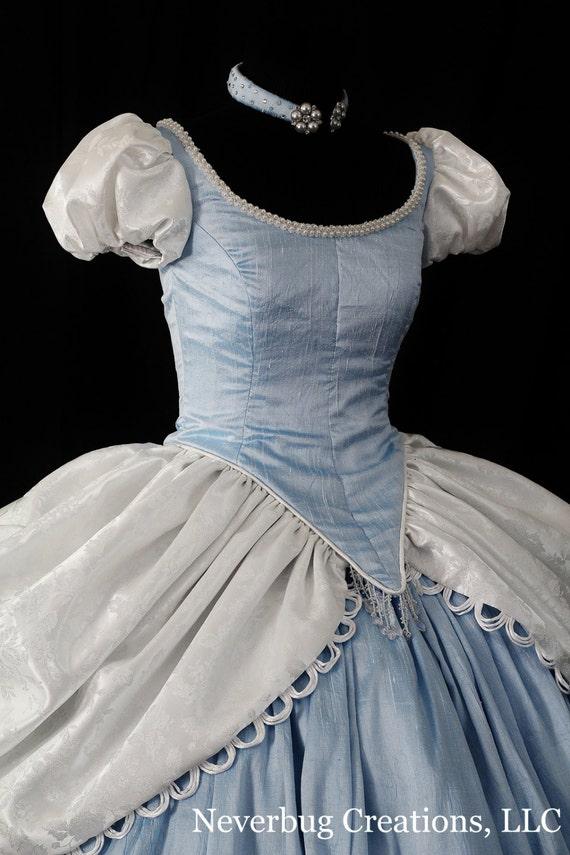 Adult Silk Cinderella Costume Custom Made