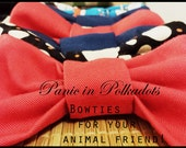 Bow Ties for your Pet - Slips Onto Pet's Collar For Added Cuteness