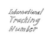 International Tracking Number