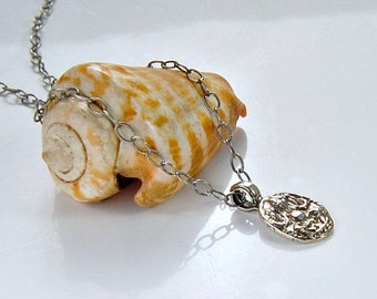 Silver Ganesh Necklace . Petite Charm