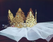 Blythe diamonds gold crown - 1/3 BJD