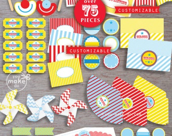 circus, 1st birthday boy, circus party, circus birthday, circus baby shower, circus party printables, circus, big top party, first birthday