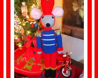 Christmas  Mouse Nutcracker & Doll Pattern©