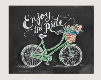 Bicycle Art Etsy