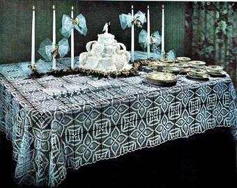 Pineapple Crochet Tablecloth Pattern