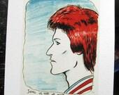 ZIGGY 8 x 10 giclee print of a Sketch by David Lasky