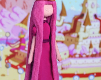 Princess Bubblegum - handmade doll from TV series Adventure Time