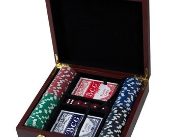 Gift for Him, Groomsmen Gift, Dad Gift, Husband Gift, Cool Groomsmen Gift, Poker Set, Card Game, Unique Mens Gift, Will You Be My Groomsman