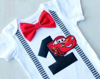 Cars Birthday Outfit, Cake Smash Outfit, Baby Boy First Birthday Outfit