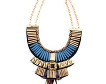 Aztec Statement Necklace
