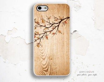 Tree Branch iPhone 6 Case - Wood iPhone 5s Case, iPhone 4 Case, iPhone 4s Case, Autumn iPhone 6 Case :0602